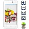 "Ebest V5 + 4.5 ""мобильный телефон QHD Android4.2 OS Dual Core MTK6572 1.3GHz RAM1GB Smart Bar (черный / белый) #01023576"